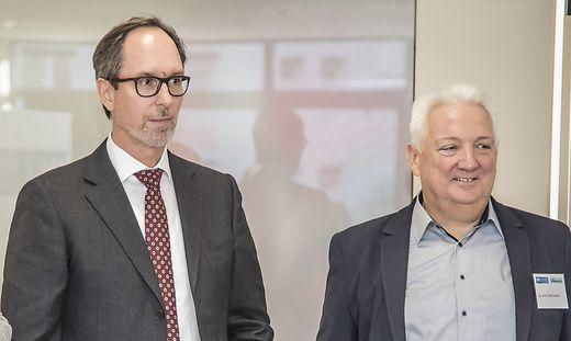 IV-Präsident Timo Springer, Flex-Vorstand Erich Dörflinger