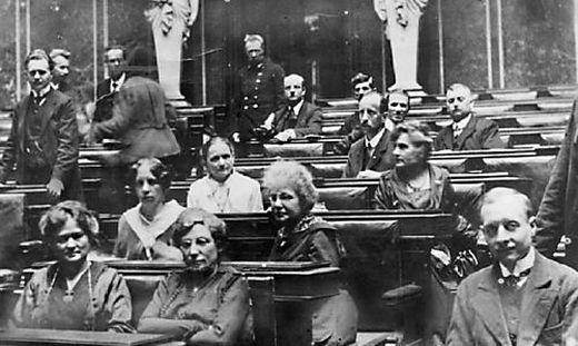 100 Jahre Frauenwahlrecht 2018