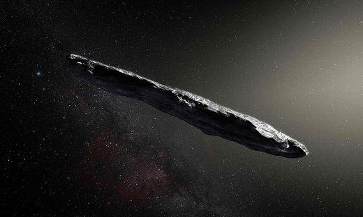 Oumuamua kommt nicht aus unserem Sonnensystem: Forscher belauschen erstmals Alien-Asteroid