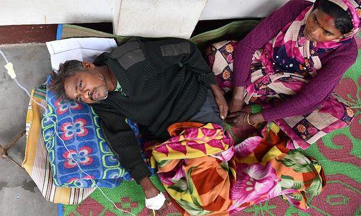 Viele Patienten liegen noch im Krankenhaus
