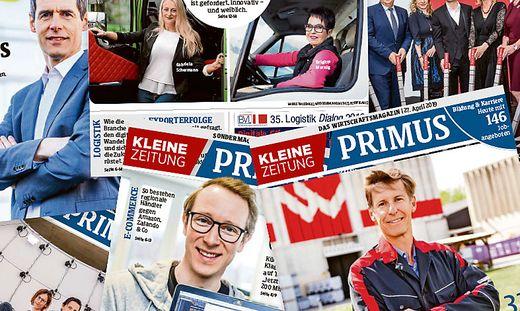 Das Wirtschaftsmagazin Primus - am Samstag in der Kleinen Zeitung