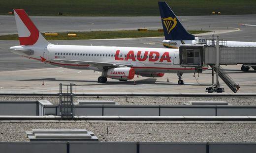 Die Laudamotion fliegt heute unter dem Dach der Ryanair