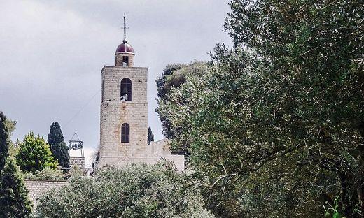 Die Kreuzfahrerkirche am Berg Tabor