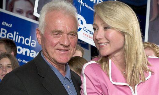 Bild aus harmonischeren Zeiten: Frank und Belinda Stronach im Jahr 2004