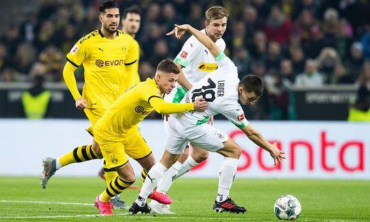 Dortmund gewann das Borussen-Duell