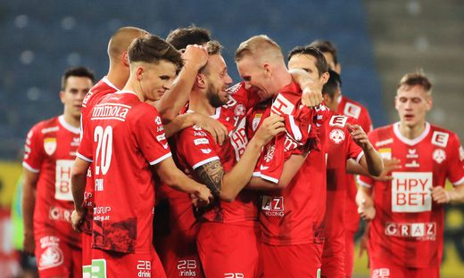 SOCCER - 2. Liga, GAK vs Amstetten