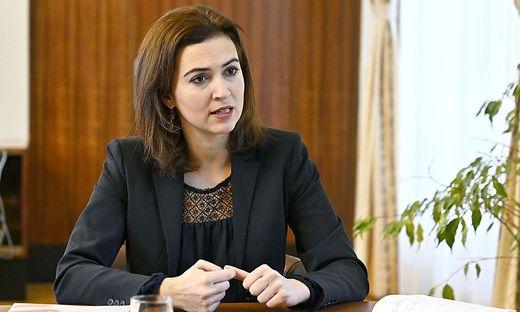 Justizministerin Alma Zadić (Grüne)