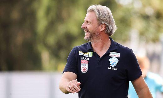Hat Markus Schopp auch heute Grund zu lachen?