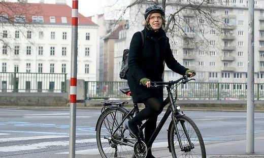 Umwelt- und Verkehrsministerin Gewessler am Tag der Angelobung