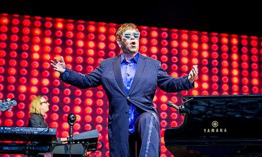 Elton John am Samstag in Klagenfurt