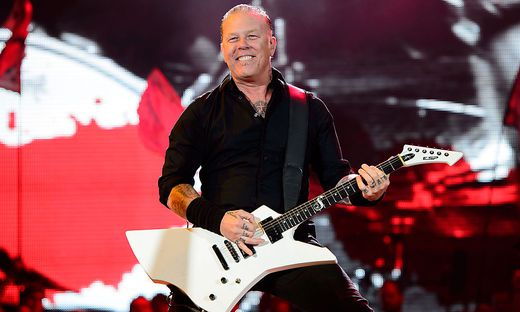 James Hetfield, Sänger von Metallica