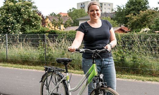 Helene Silberschneider freut sich, dass sie künftig mehr am Rad sitzen wird