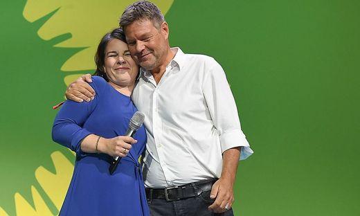 Annalena Baerbock und Grünen-Co-Chef Robert Habeck