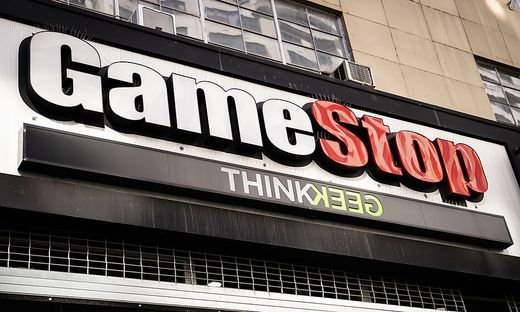 Gamestop ist Ziel heftiger Kursspkulationen