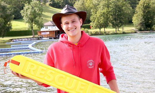 Thomas Sablattnig sieht seine Tätigkeit bei der Wasserrettung als Hobby an