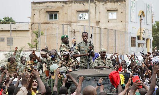 Aufstand in Bamako