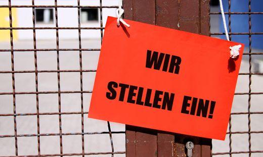 Zurzeit gibt es in Österreich einen Rekordbestand an offenen Stellen