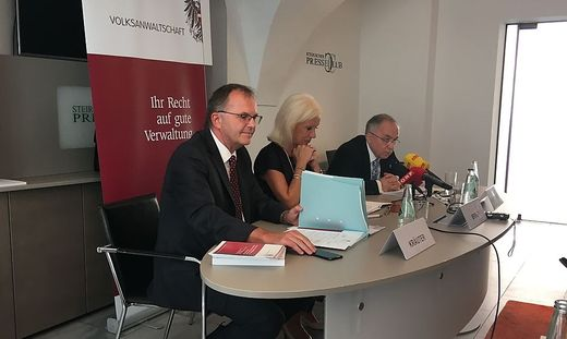 Volksanwälte in Graz