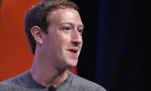 Facebook-Gründer und Chef Mark Zuckerberg
