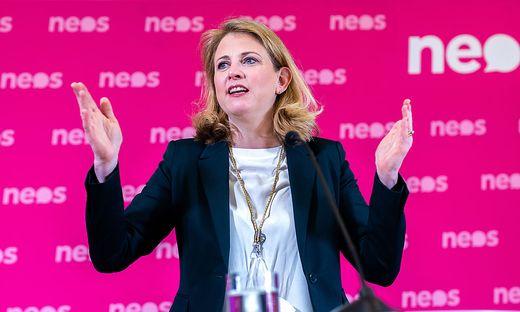 Neos-Chefin Beate Meinl-Reisinger