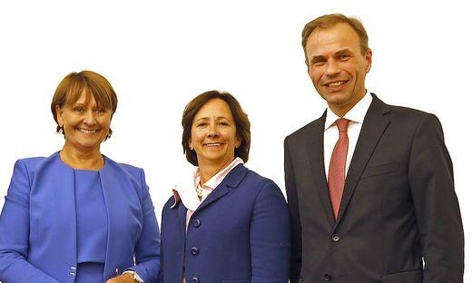 Herta Stockbauer, Gabriele Semmelrock-Werzer, Peter Gauper