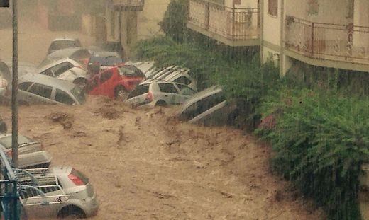 Unwetter In Kalabrien