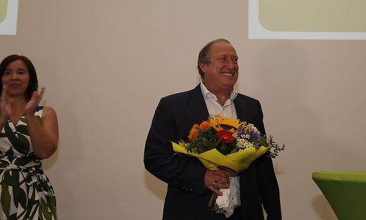 Rolf Holub wurde wiedergewählt