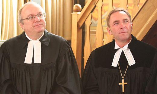Folgt Manfred Sauer (rechts) Michael Bünker?