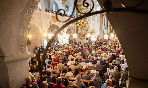 Kärntner Katholiken setzten ein machtvolles Zeichen