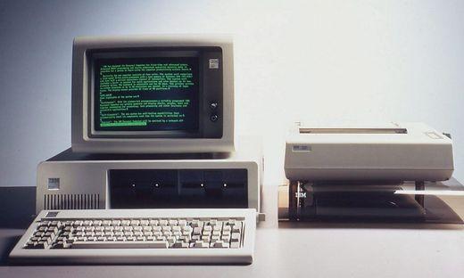 Kein anderer Computer hatte auf die Branche so viel Einfluss wie der erste IBM-PC