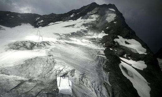Der Klimawandel bedroht die Gletscher
