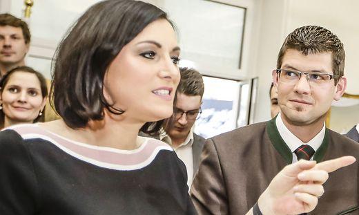 Martin Gruber folgt auf Christian Benger. Elisabeth Köstinger bleibt in Wien