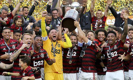 Die Flamengo-Stars jubelten