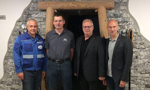 Hofbauer, Drnek, Schachner und Waxenegger (v. l.)