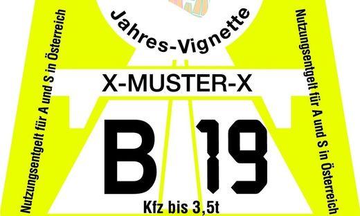 Ab dem heutigen Freitag gelten auf den österreichischen Autobahnen nur noch die Vignetten 2019
