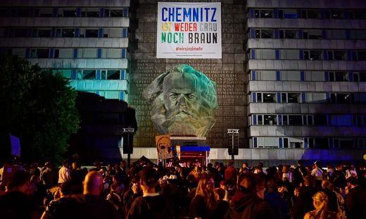 Chemnitz: Mehr als 50.000 Besucher rockten bei Konzert gegen