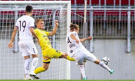 SOCCER - A.Klagenfurt vs Lafnitz, test match