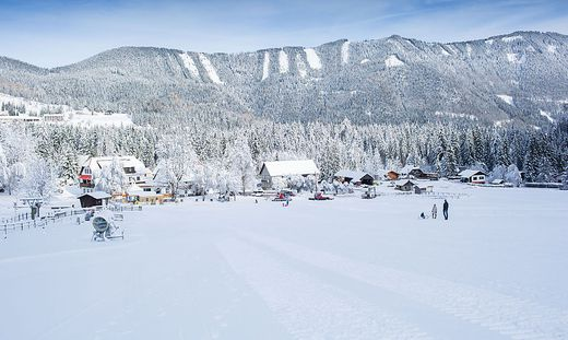 Das Bodental ist ein beliebtes Ziel für Ausflügler, Skifahrer und andere Sportlerein b