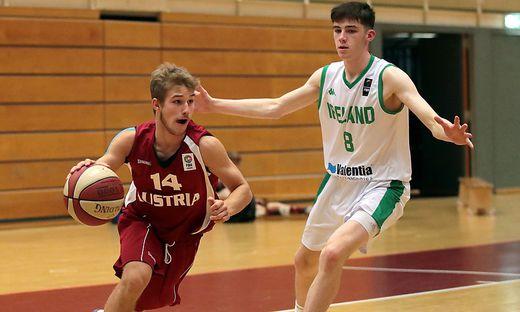 Sebastian Magerböck war auch für das österreichische U18-Nationalteam aktiv