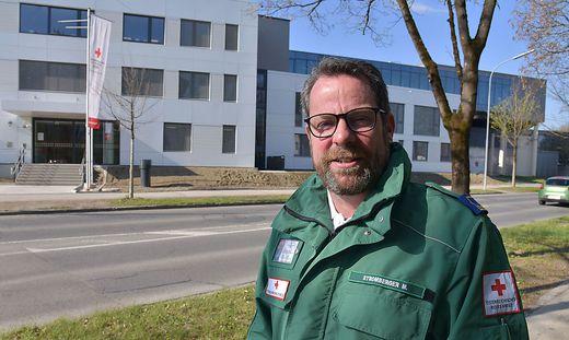 Markus Stromberger leitet ehrenamtlich das Kriseninterventionsteam des Roten Kreuzes.