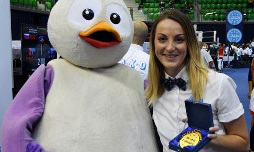 Ehrenmedaille für Jasmin Reiter bei der EM in Györ