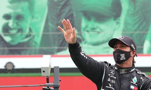 Lewis Hamilton ist alleiniger Rekordsieger in der Formel 1