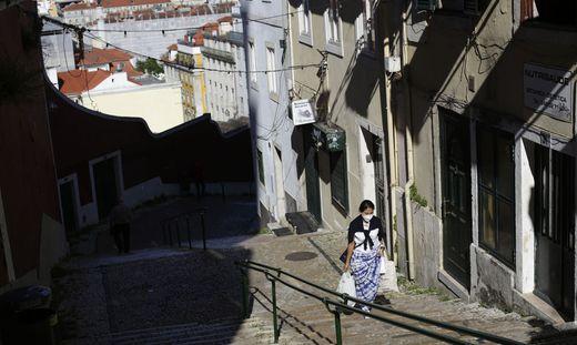 Nächtliche Ausgangssperren wieder in Portugals Hauptstadt Lissabon