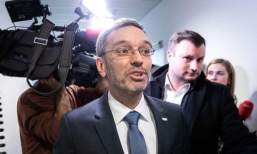 Innenminister Kickl