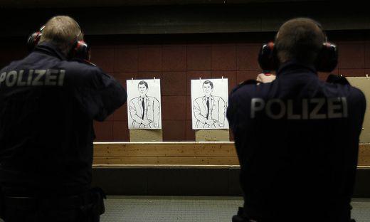 Zusätzlich zur Einsatzmunition gibt es für die Polizei auch neue Trainingsmunition