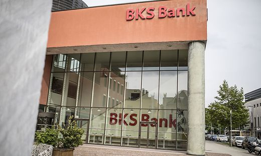 Die Zentrale der BKS in Klagenfurt