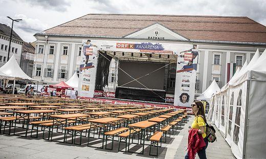 Public Viewing wird wieder auf dem Neuen Platz stattfinden