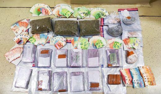 ++ HANDOUT/ARCHIVBILD ++ WIEN: POLIZEI BESCHLAGNAHMTE DROGEN IM MILLIONENWERT