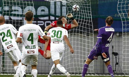 Spielmacher Patrick Greil gelang gegen WSG Tirol sein erster Saisontreffer