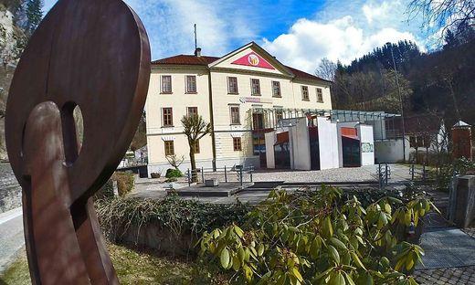 Blick auf das Harrer-Museum in Hüttenberg
